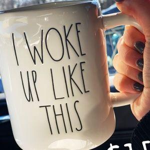 Rae Dunn I WOKE UP LIKE THIS mug